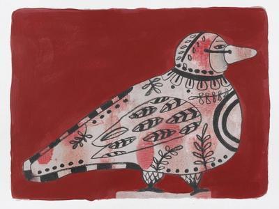 Mardi Gras Bird 19-Maria Pietri Lalor-Giclee Print