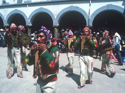 Mardi Gras Carnival, Oruro, Bolivia--Photographic Print