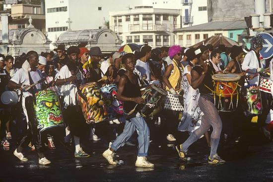 Mardi Gras Carnival, Port-De-France, Martinique, French West Indies--Photographic Print