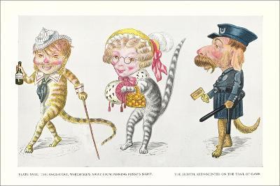 Mardi Gras Costumes--Art Print