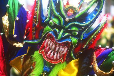 Mardi Gras, La Vega, Dominican Republic, Caribbean--Photographic Print
