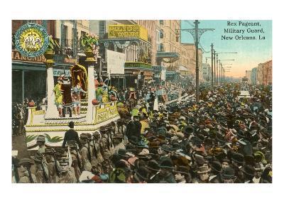 Mardi Gras Parade, New Orleans, Louisiana--Art Print
