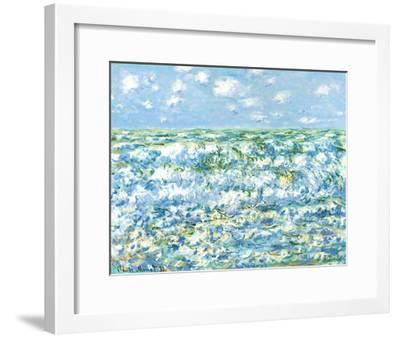 Mare Agitato-Claude Monet-Framed Art Print