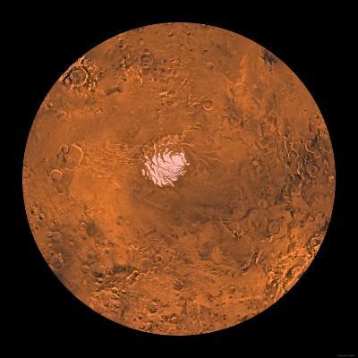 Mare Australe Region of Mars-Stocktrek Images-Photographic Print