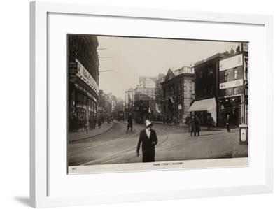 Mare Street, Hackney--Framed Photographic Print