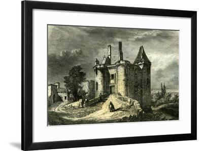Mareuil Dordogne France 1851--Framed Giclee Print