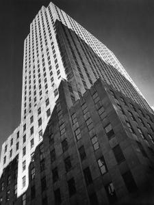 9 Rockefeller Plaza, Which Housed Time Editorial Offices from 1938-1960 by Margaret Bourke-White