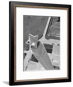 Aerial Shot of San Jacinto Monument. 1952 Houston, Texas by Margaret Bourke-White