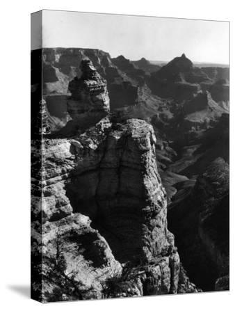 Aerial View of Rock Formation in the Grand Canyon