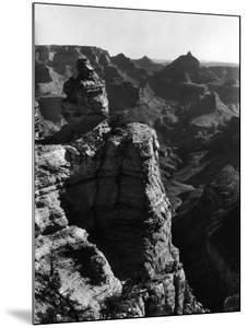 Aerial View of Rock Formation in the Grand Canyon by Margaret Bourke-White