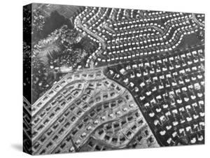 Aerial View of Suburban Housing Development Outside of Philadelphia by Margaret Bourke-White
