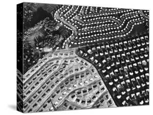 Aerial View of Suburban Housing Development under Construction by Margaret Bourke-White