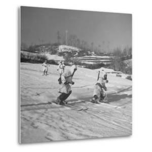 Amer. 10th Mountain Div. Army Ski Patrol, on the Itallian Front in the Appennine Mountains by Margaret Bourke-White