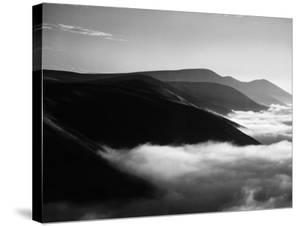 Banks of Fog Enveloping Mountains Outside San Francisco by Margaret Bourke-White