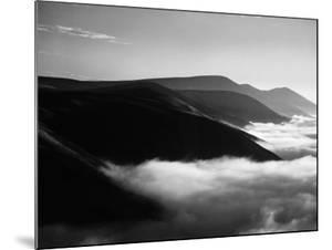 Banks of Fog Enveloping Mountains Outside San Francisco by Margaret Bourke-White