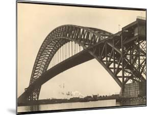 Bayonne Bridge and the Port of Ny by Margaret Bourke-White