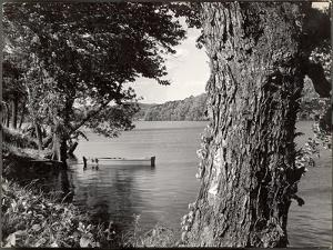 Boat Landing on the Banks of the Hudson River by Margaret Bourke-White