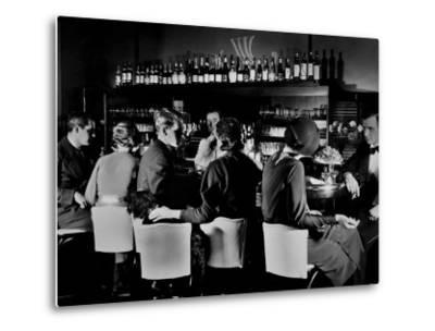 Celebrity Patrons Enjoying Drinks at This Speakeasy Without Fear of Police Prohibition Raids