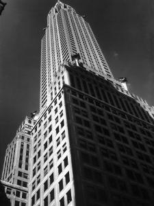 Chrysler Building, 8th Home of Time Editorial Offices, from 1932-1938 by Margaret Bourke-White