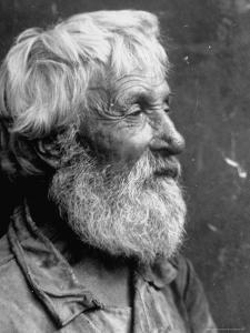 Close Up Portrait of Old Russian Peasant by Margaret Bourke-White