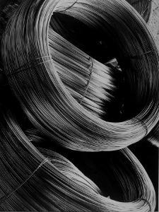 Coiled Rod Ready to Draw into Wire at Aluminum Company of America Plant by Margaret Bourke-White