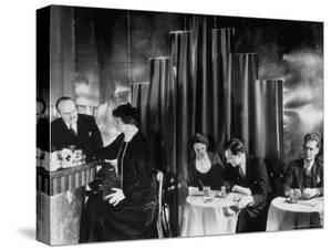 Couples Enjoying Drinks at This Smart, Modern Speakeasy Without Police Prohibition Raids by Margaret Bourke-White