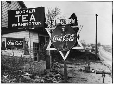 Cruel Display of Racist Condescension in the Land of Segregation by Margaret Bourke-White