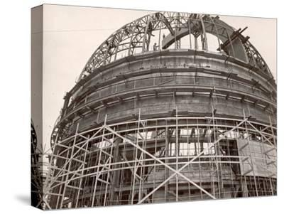 Dome under Construction to House 200-Inch Telescope at Observatory on Mt. Palomar