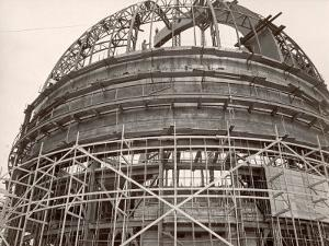 Dome under Construction to House 200-Inch Telescope at Observatory on Mt. Palomar by Margaret Bourke-White