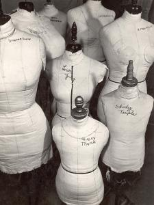 Dressmaker's Forms in Wardrobe Department at 20th Century Fox by Margaret Bourke-White