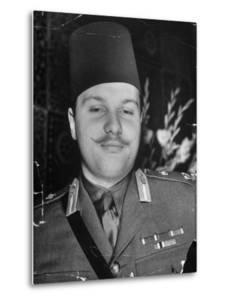 Egyptian King Farouk at His Palace by Margaret Bourke-White