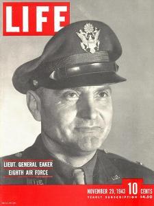Eighth Air Forces Lt. Gen. Eaker, November 29, 1943 by Margaret Bourke-White