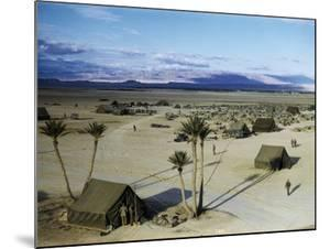 Elevated View of a Us Military Camp, Sahara, 1943 by Margaret Bourke-White