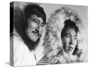 Eskimo Portraits from Artic Trip- Coppermine August 1937 by Margaret Bourke-White