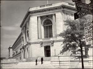 Exterior View of the US Senate Office Building by Margaret Bourke-White