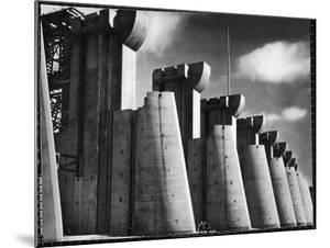 Fort Peck Dam as Featured on the Very First Cover of Life Magazine by Margaret Bourke-White