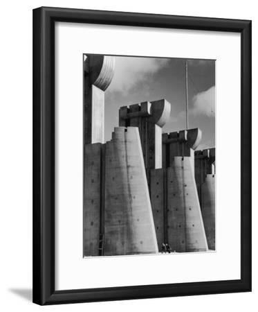 Fort Peck Dam, in the Missouri River: Image Used on First Life Magazine Cover