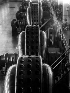 Hydro-Generators at Niagara Falls Power Company by Margaret Bourke-White