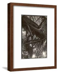 Interior of Corning Glass Plant Reveal a Maze of Pipes, Ducts and Platforms Surrounding Furnaces by Margaret Bourke-White