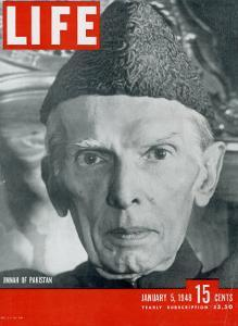Jinnah of Pakistan, January 5, 1948 by Margaret Bourke-White