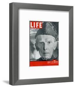 Jinnah of Pakistan, January 5, 1948 by Margaret Bourke-White