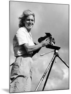 Life Photographer Margaret Bourke White at Work by Margaret Bourke-White