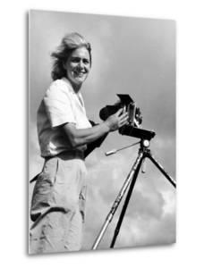 Life Photographer Margaret Bourke White at Work by Margaret Bourke-White