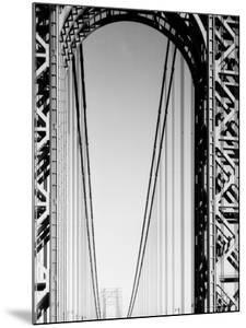 Looking Head on at Roadway of George Washington Bridge by Margaret Bourke-White
