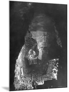 Miners Working a Rich Vein in Tunnel of the Powderly Anthracite Coal Mine, Owned by Hudson Coal Co by Margaret Bourke-White