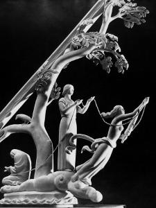Model for 50 Ft. New York World's Fair Sundial, Representing the Three Fates with Thread of Life by Margaret Bourke-White
