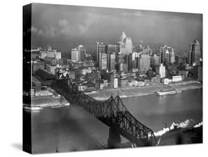 Monongahela River in the Heart of the City by Margaret Bourke-White