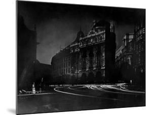 Nighttime View of Regent Street in the Piccadilly Circus Section of the City by Margaret Bourke-White