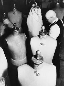 Old Fashion Dress from Woman's Suit Design at Aaron Goldstein and Company Garment Factory by Margaret Bourke-White