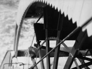 Paddle Wheel of S.S. Athabasca River by Margaret Bourke-White